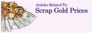 Articles related to scrap gold prices